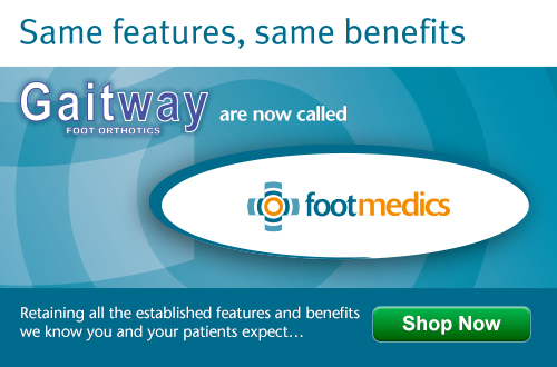 Gaitway Foot Orthotics are now called FootMedics